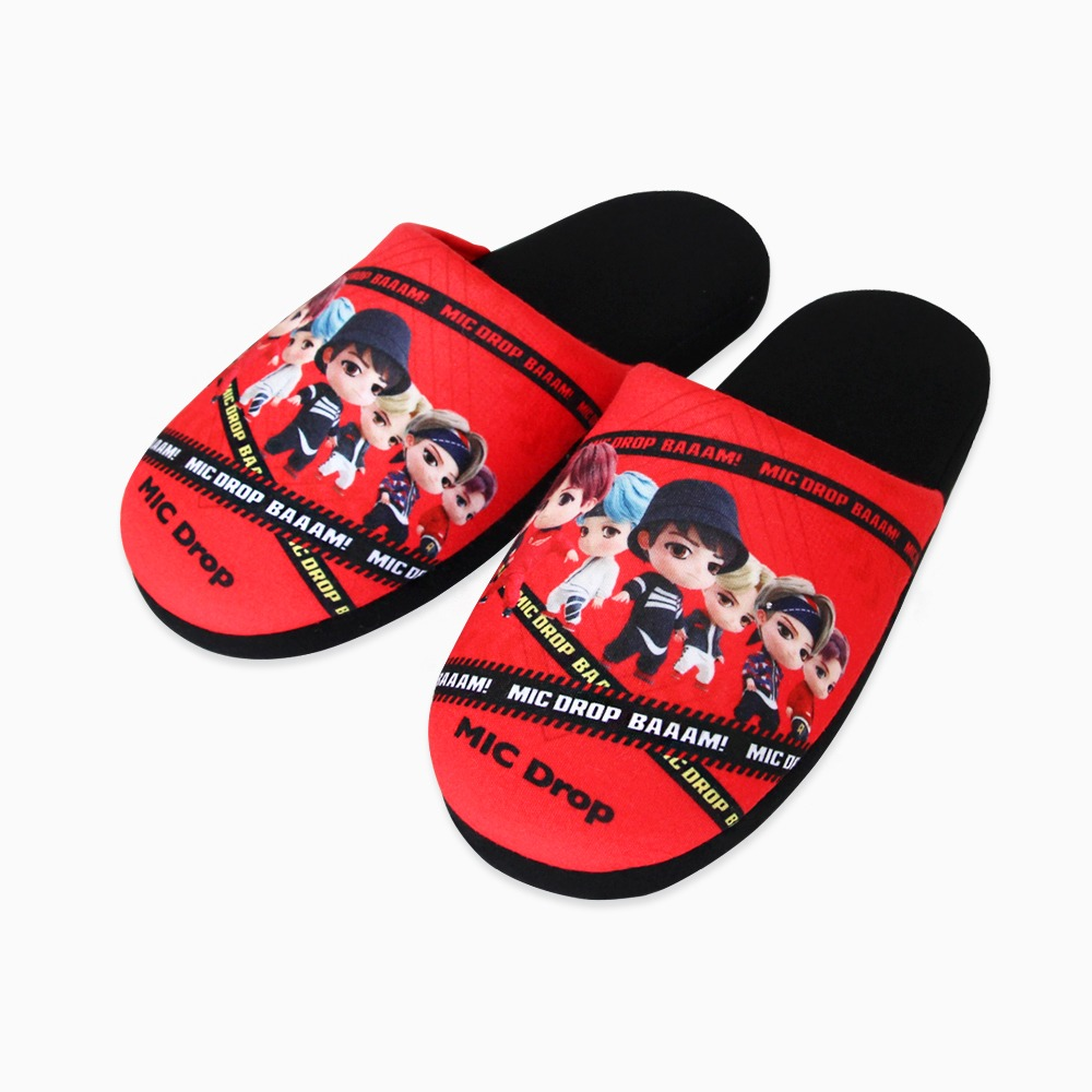 [30%]TinyTAN MIC Drop SLIPPERS