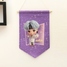 TinyTAN FABRIC FLAG_SUGA
